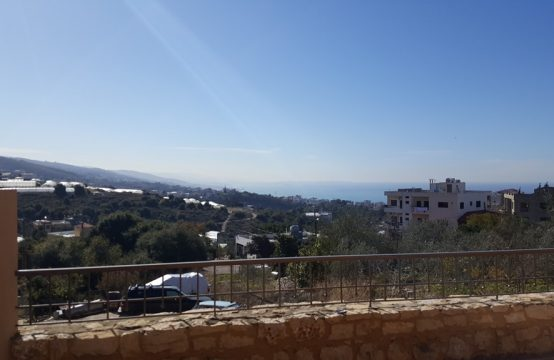 140 SQM New Apartment for Sale in Eddeh + 80 SQM Terrace