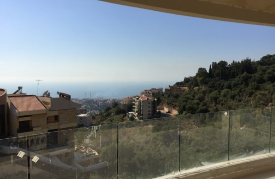 188 SQM New Apartment For Sale in Shaileh + 70 SQM Terrace
